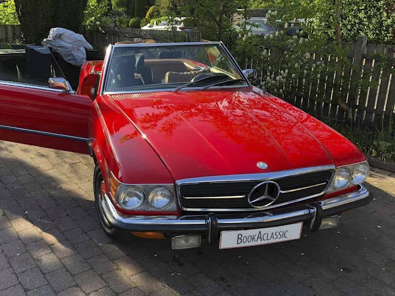 Mercedes-benz 450sl Hire Dyssegård