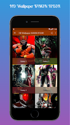 HD Wallpaper K4M3N R1D3R APK screenshot thumbnail 2