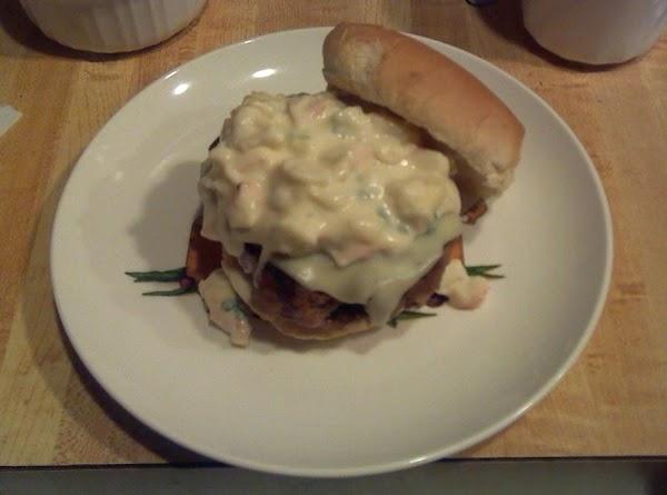 Garlic Crab Burger Recipe