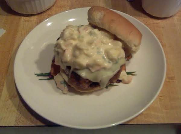 Garlic Crab Burger Recipe