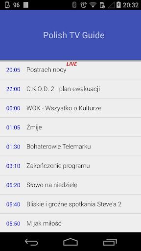 Polish TV Guide