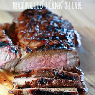 Honey Ginger Marinated Flank Steak.