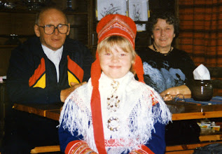 Photo: Kalle, Tiina ja Maija