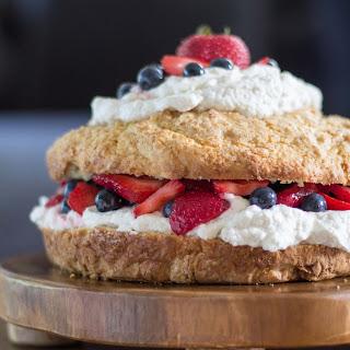 New England Style Strawberry Shortcake.