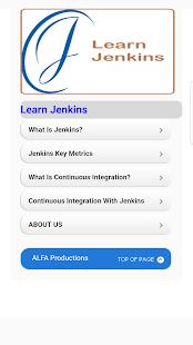 Learn Jenkins - náhled