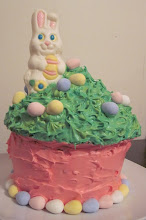 Photo: Easter Cake for a bake sale March 2008 Blog Post: http://createsharerepeat.blogspot.com/2010/09/no-excuses.html