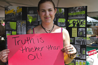 Photo: Truth is Thicker Than Oil