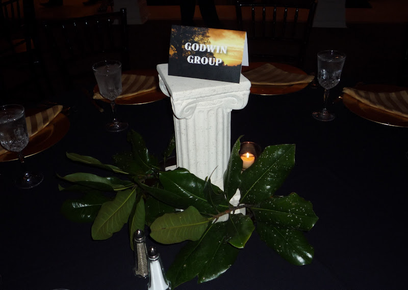 Photo: We loved our perfectly themed centerpiece.