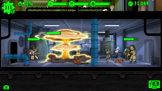 Fallout Shelter 1.12 (Mega Mods) Apk + Data