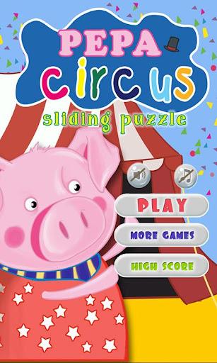 Pepa Circus Sliding Puzzle