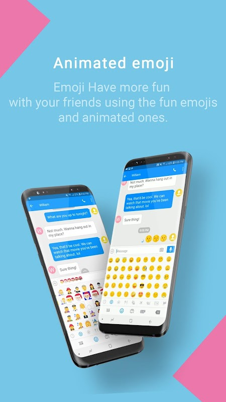 Handcent Next SMS(Best texting with MMS, stickers) screenshots
