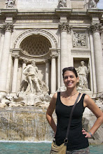 Photo: Teresa at the Trevi Fountain in Rome, Italy