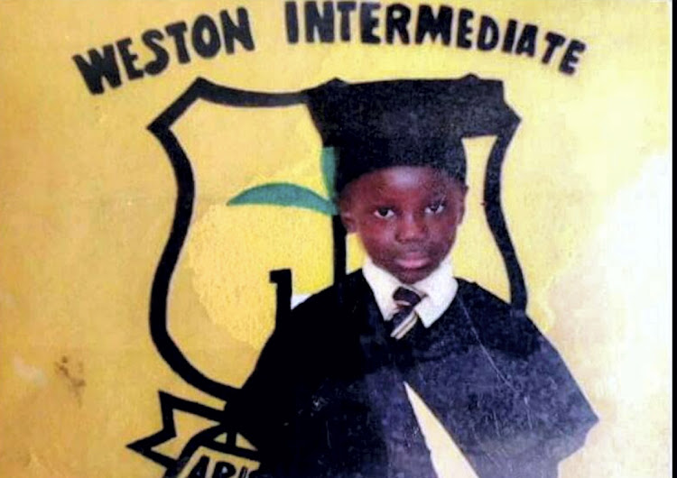 This is the only existing photograph of murdered Aqhama Tom, 8, whose body was discovered by police in Hankey on Tuesday last week.