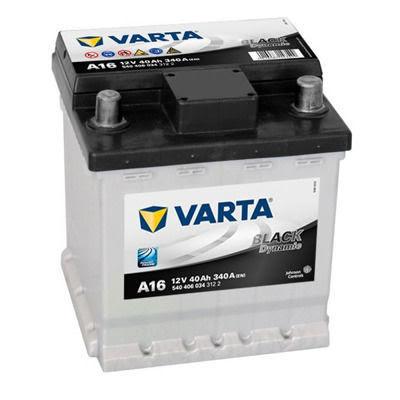 Bilbatteri 12V 40Ah Varta Black Dynamic A16