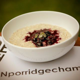 Berrylicious Porridge.