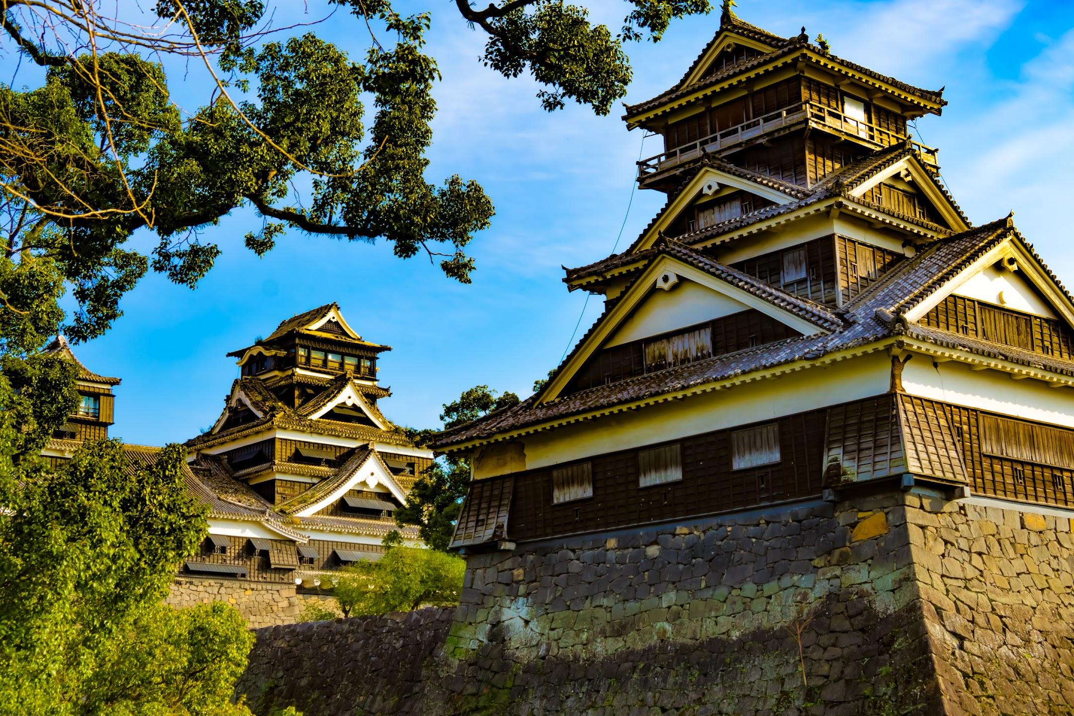 熊本城 加藤神社 天守2