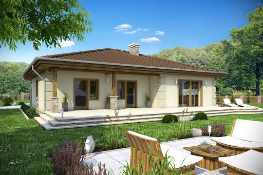 projekt Cyrus II z garażem 2-st. A
