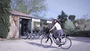 location de vélo à l'Esclériade chambre d'hôte à Vaison la Romaine dans le Vaucluse