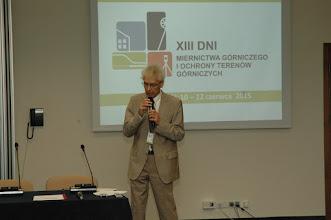 Photo: Powitanie i słowo wstępne: Prof. Z. Niedojadło