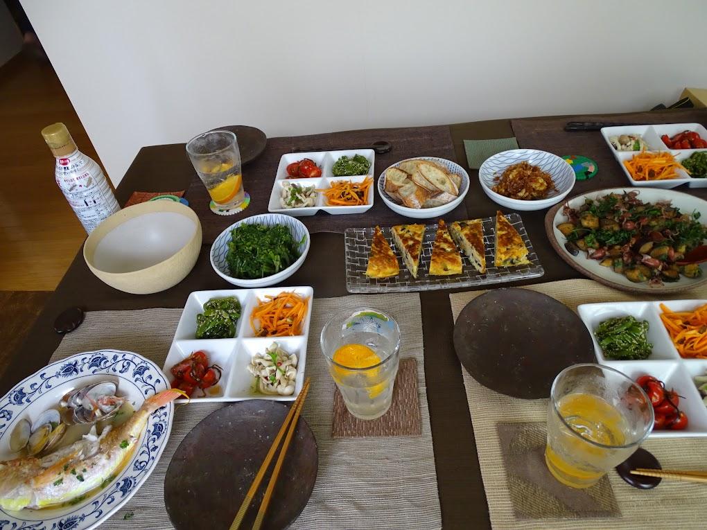 この日の料理
