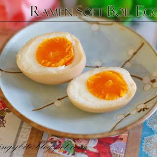 Ramen Soft Boil Egg.