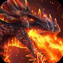 Fire Dragon Live Wallpaper icon