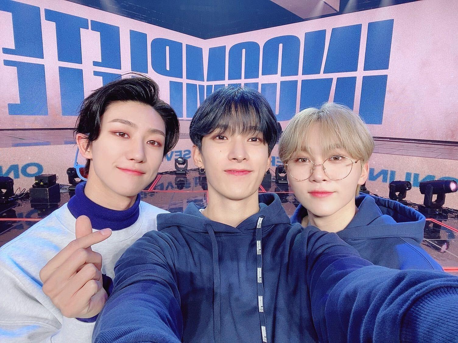 seventeen the8 minghao dk seungkwan @pledis_17
