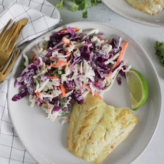 Seared Cod with a Brown Butter Lime Sauce Recipe