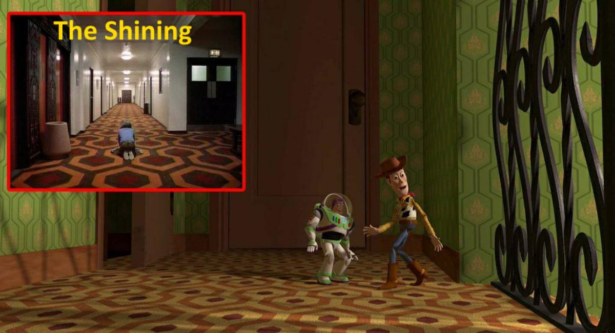 The shining versus Toy Story