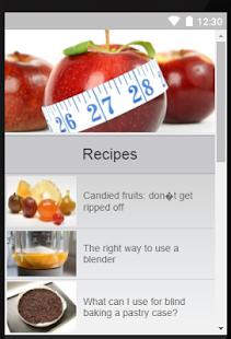 Spaghetti Recipes Pasta App - náhled