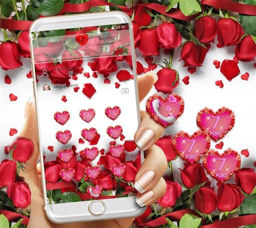 Red Rose Theme Wallpaper Red Roses Lock Screen 1.1.7 screenshots 7
