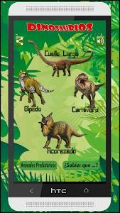 Guia Dinosaurios Prehistóricos screenshot 1