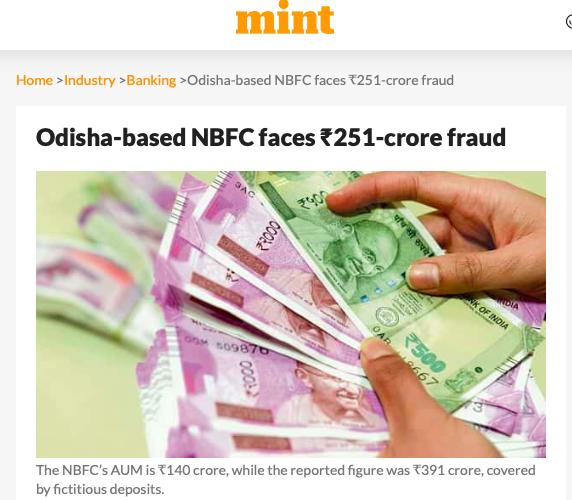 Amit Dangi Authum NBFC scam