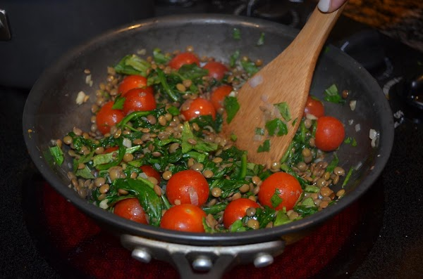 Heat 2 tbsp olive oil in a skillet over medium-high heat. Add the shallots...