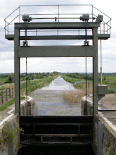 Photo: Lock to lode downstream of Bottisham lock