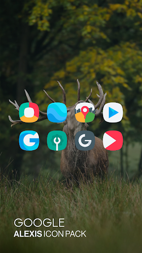 Alexis Icon Pack: Clean and Minimalistic 9.8 screenshots 1