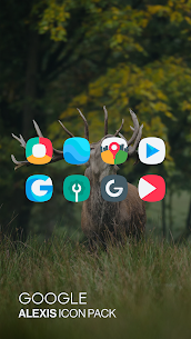 Alexis Icon Pack: Clean and Minimalistic 10.0 Latest MOD Updated 1