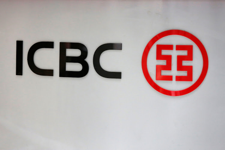 Industrial and Commercial Bank of China's logo. Picture: REUTERS/Kim Kyung-Hoon