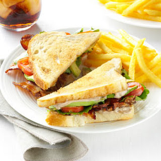 BLT with Peppered Balsamic Mayo.