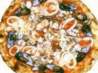 Authentic Frutti Di Mare Pizza