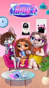 Amy's Animal Hair Salon – Cat Fashion & Hairstyles 1