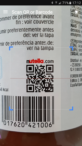 QR & Barcode Scanner screenshot 3