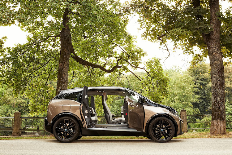 Expect 30% more electric drive range from the new 120Ah BMW i3. Picture: SUPPLIED