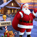Christmas Santa Crazy Kart Gift Delivery Game 2020 icon