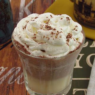 Mango And Chocolate Milk Shake.