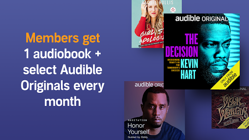 Audio Books, Stories & Audio Content by Audible screenshot 4
