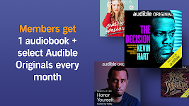 screenshot of Audio Books, Stories & Audio Content by Audible