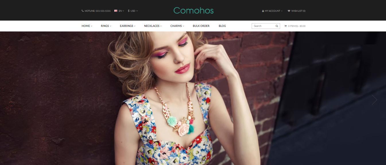 Comohos - Opencart supermarket theme
