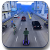 Hoverboard Racer 3D : Subway Hoverboards Racing