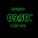 Tattoo Digital Clock LWP icon